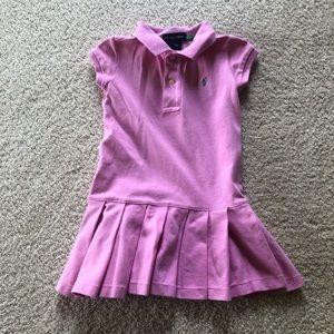 Girls 3T Ralph Lauren Short Sleeve Dress